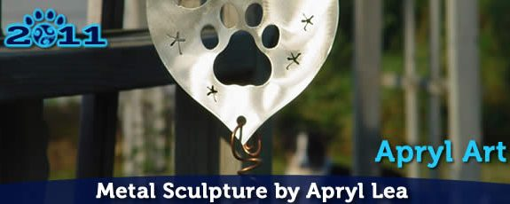 Pawsitive Vybe Metalworks is Back Online – Canine Metal Sculpture by Apryl Lea