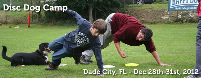 PVybe Disc Dog Camp FL 2012