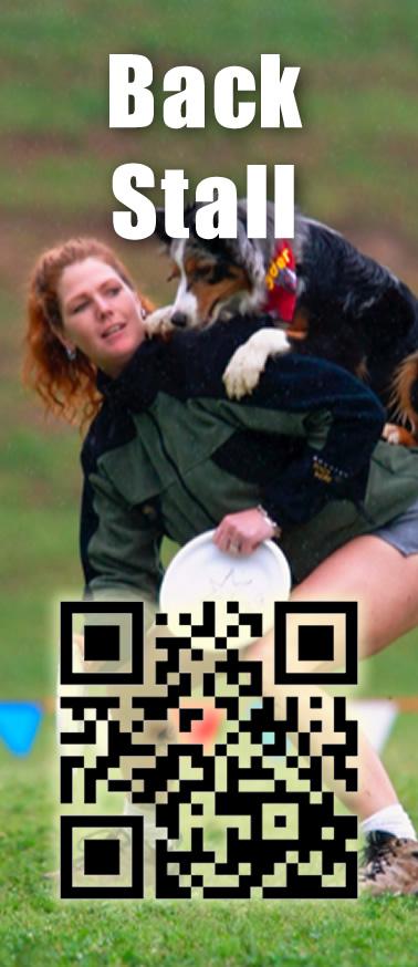 Disc Dog Back Stall