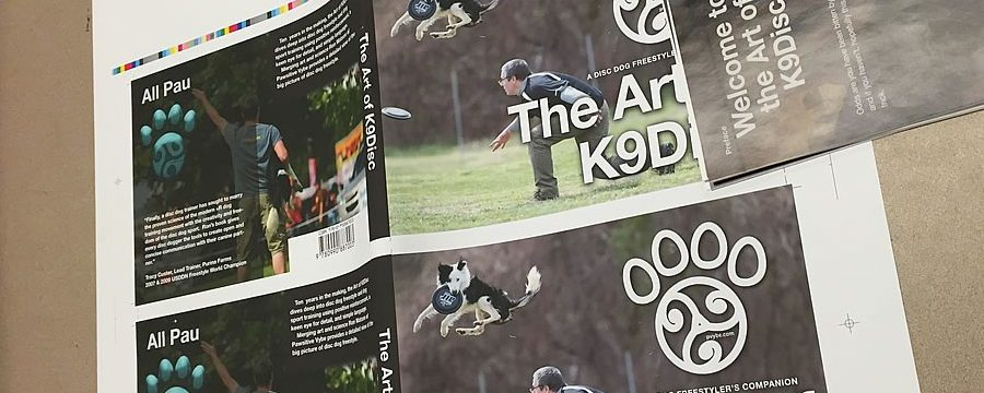 Art of K9Disc Release News – On iTunes and in Print Early February