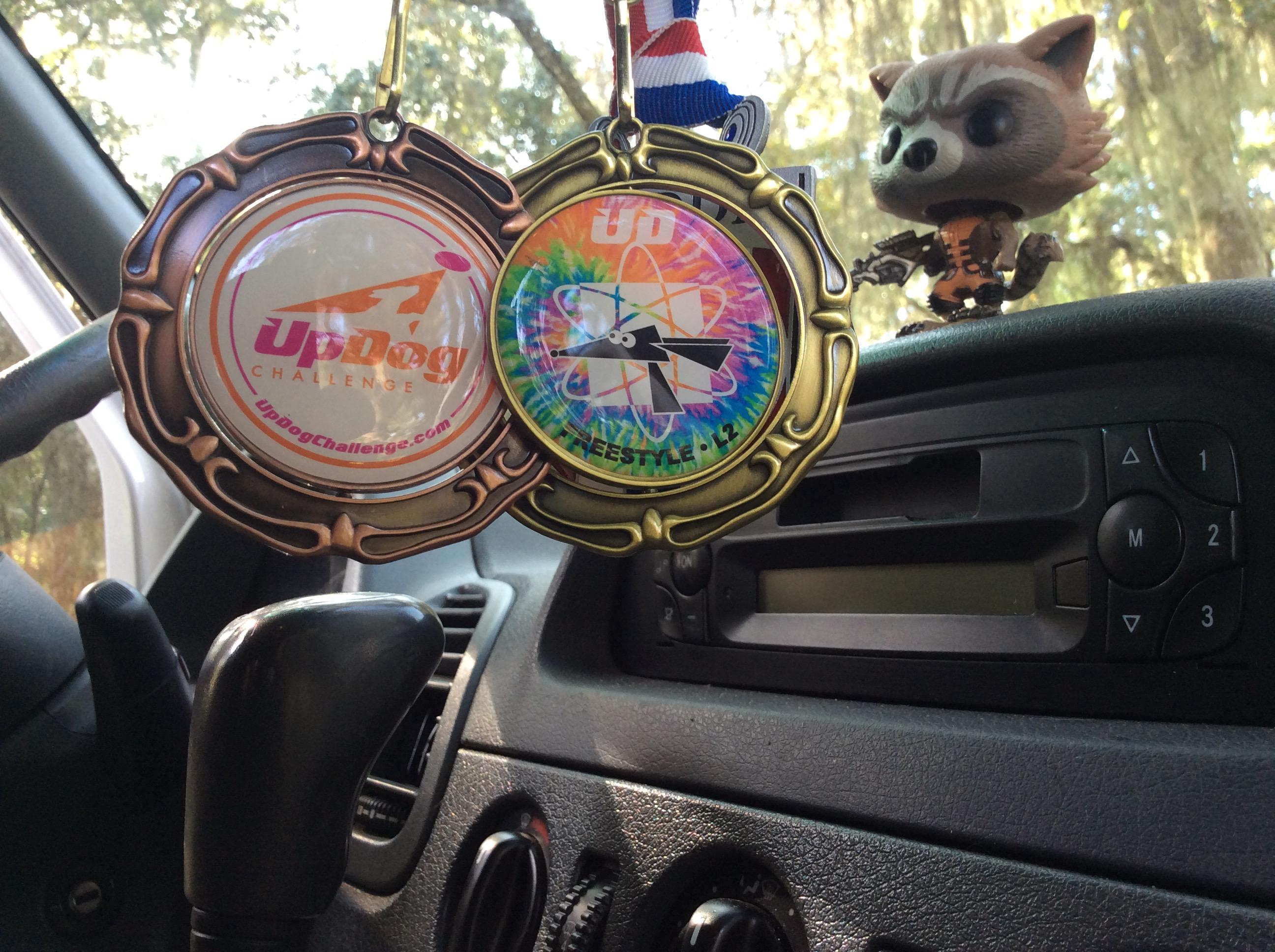 UpDog Freestyle Level 2 Medals